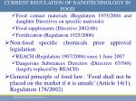 current regulation of nanotechnology in food5