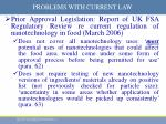 problems with current law7