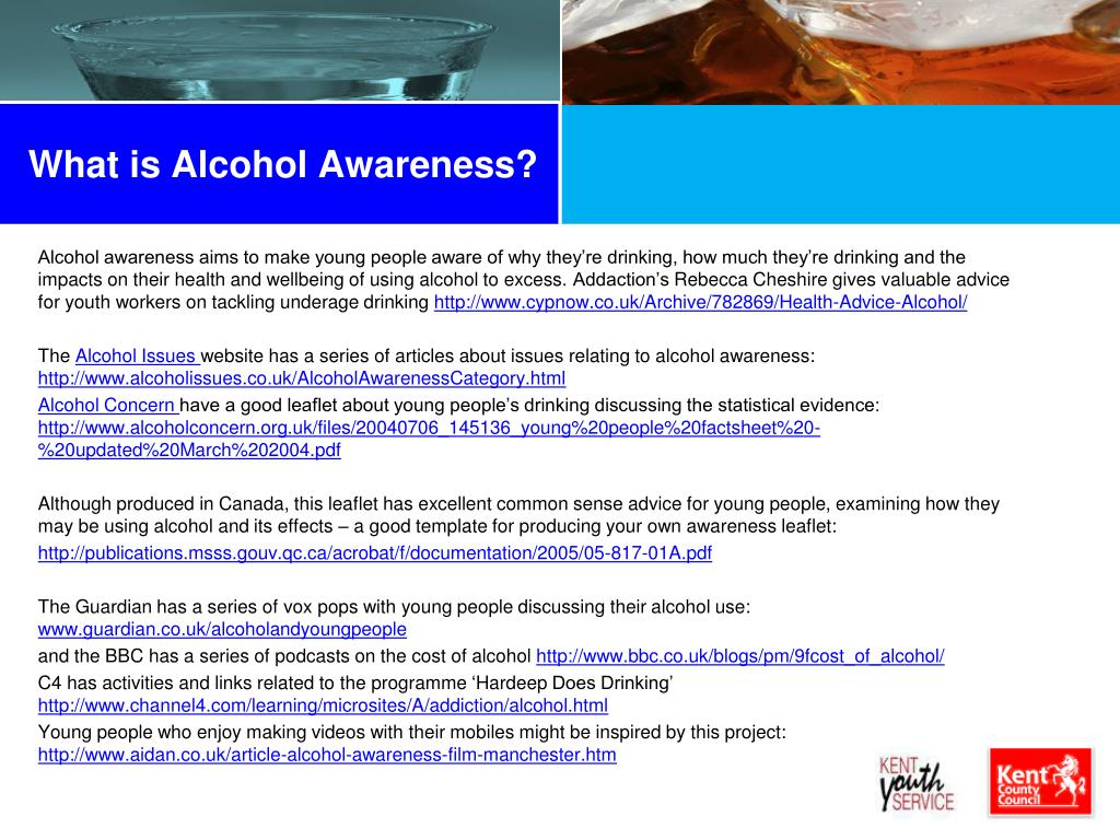 What is Alcohol Awareness?