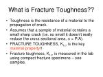 what is fracture toughness