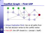 conflict graph first uip18