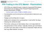 ffa trading in the otc market practicalities1
