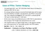 uses of ffas tanker hedging