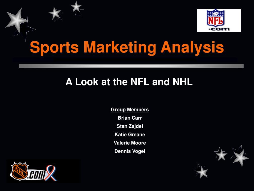 sports marketing analysis l.