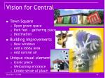 vision for central