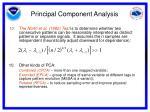 principal component analysis18