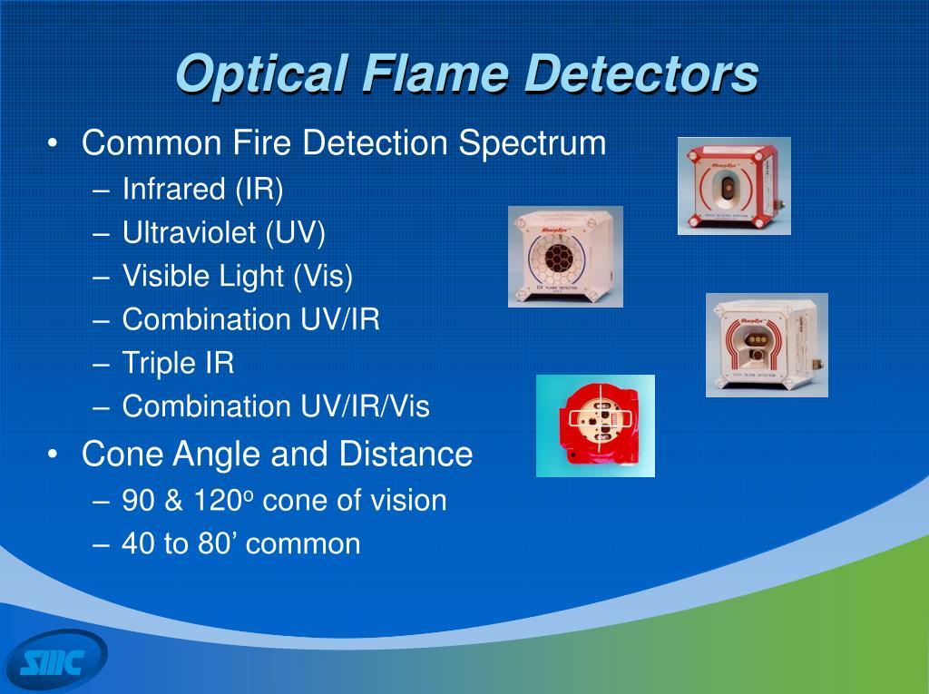 Optical Flame Detectors