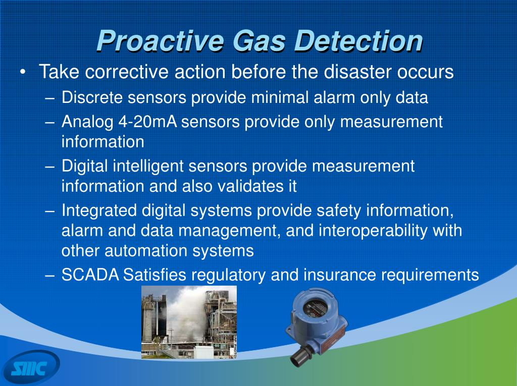 Proactive Gas Detection