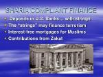 sharia compliant finance