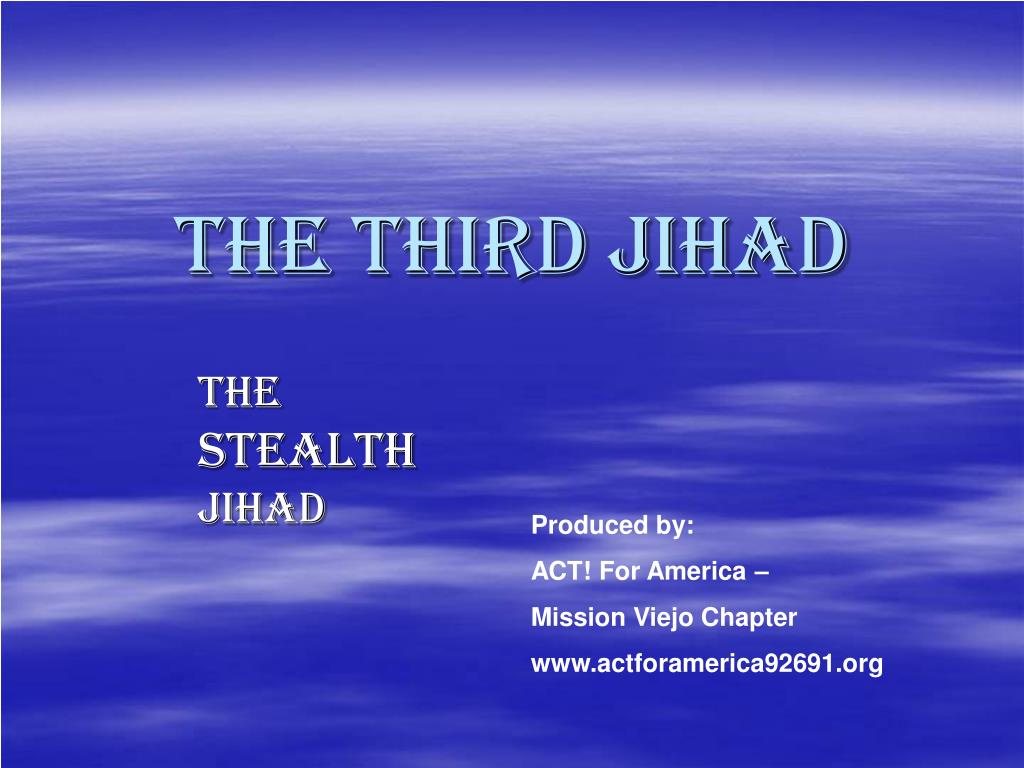 the third jihad l.