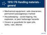 1910 176 handling materials general