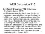 web discussion 16