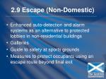 2 9 escape non domestic102