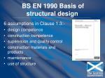 bs en 1990 basis of structural design