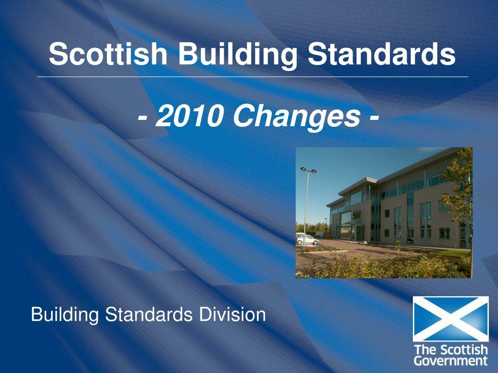 scottish building standards l.