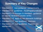 summary of key changes86