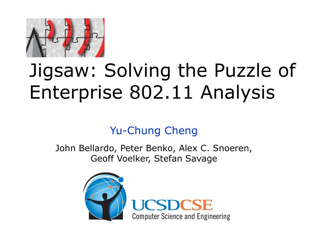 jigsaw solving the puzzle of enterprise 802 11 analysis l.