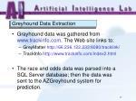 greyhound data extraction