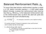 balanced reinforcement ratio b