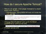how do i secure apache tomcat11