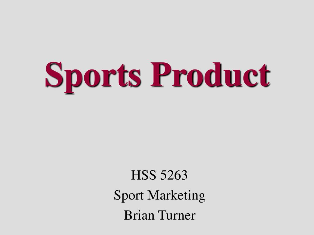 Sports Product