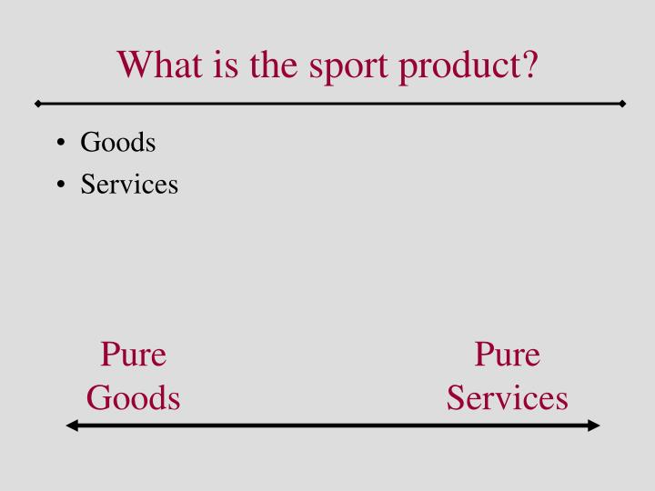 What is the sport product3