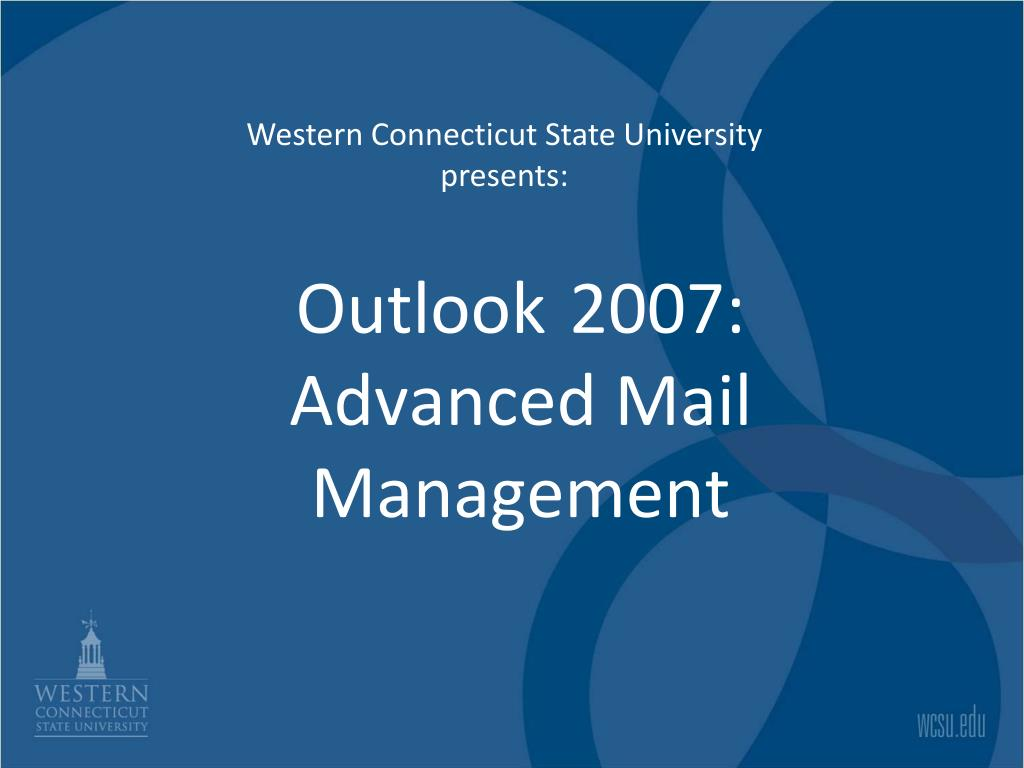 outlook 2007 advanced mail management l.