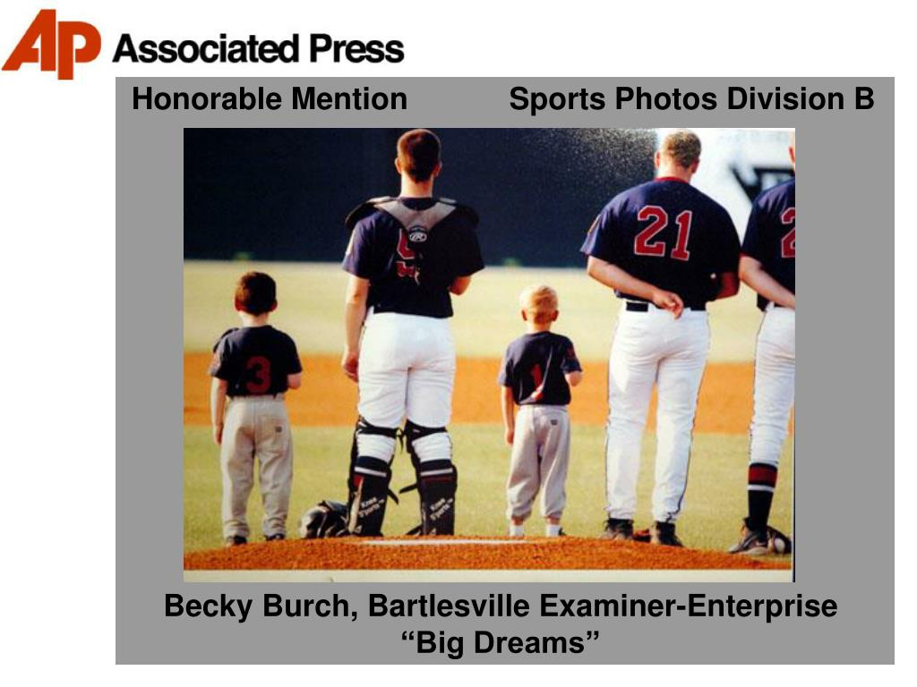 Honorable Mention            Sports Photos Division B