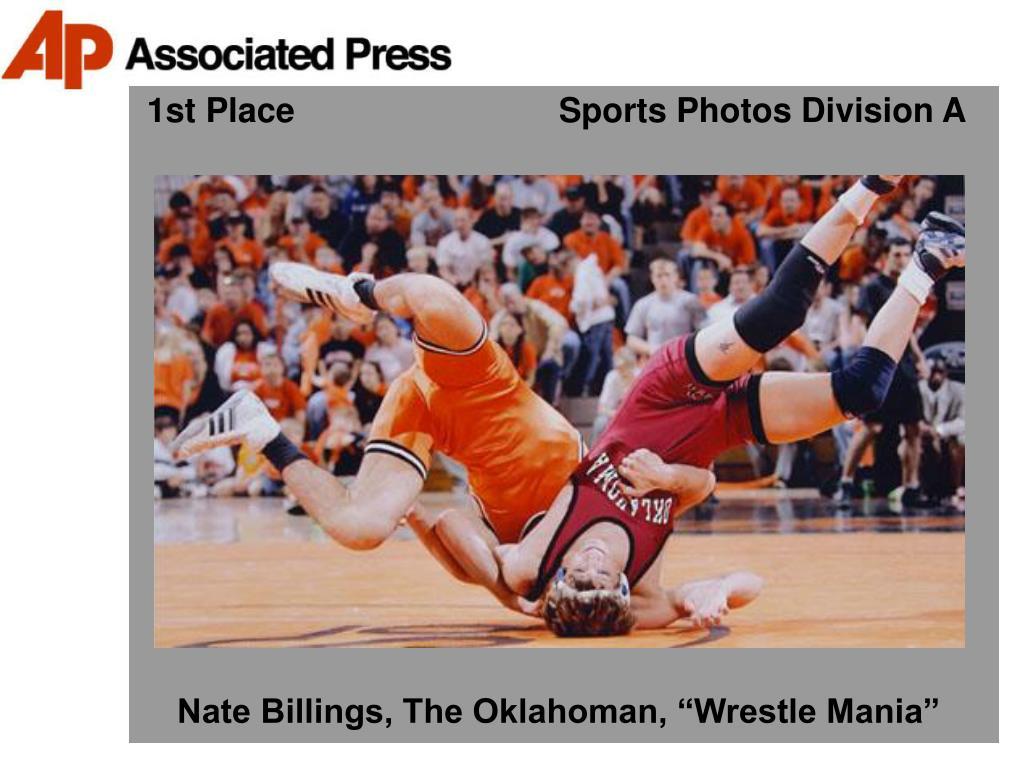 1st Place                            Sports Photos Division A
