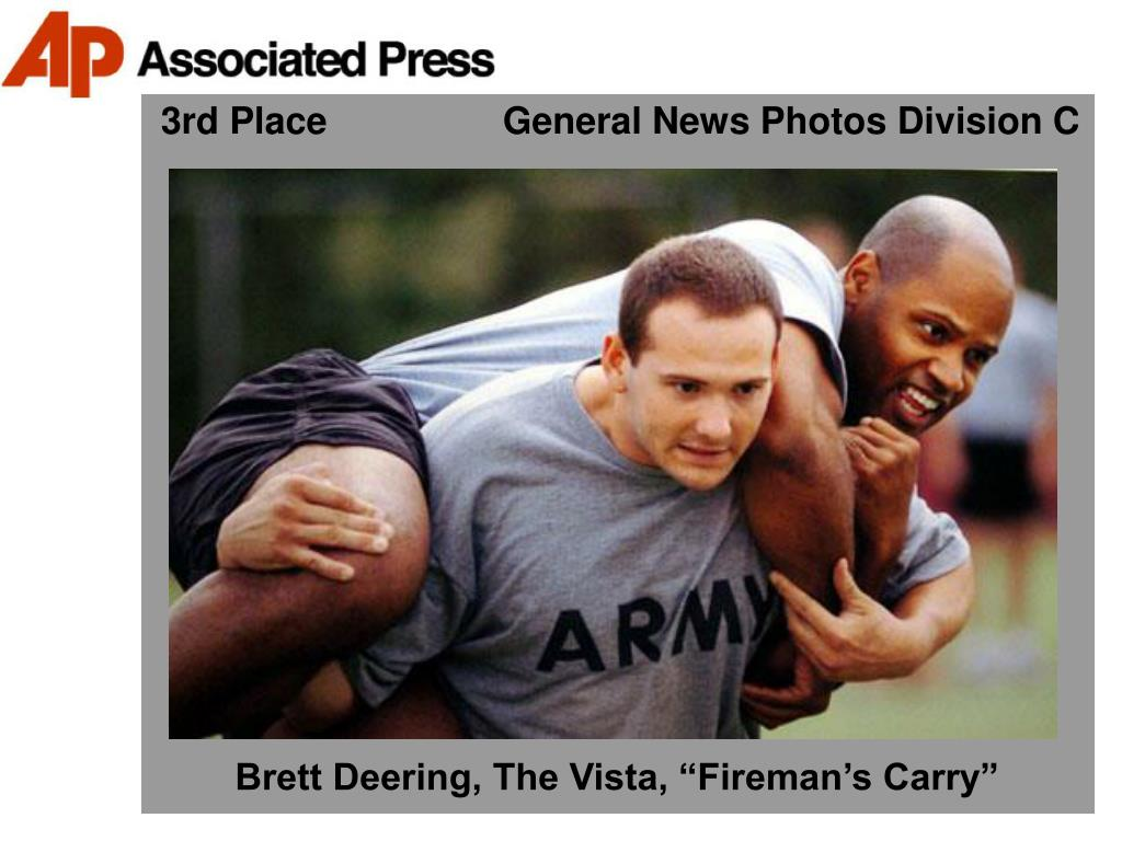 3rd Place                 General News Photos Division C