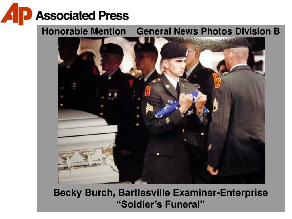 Honorable Mention    General News Photos Division B