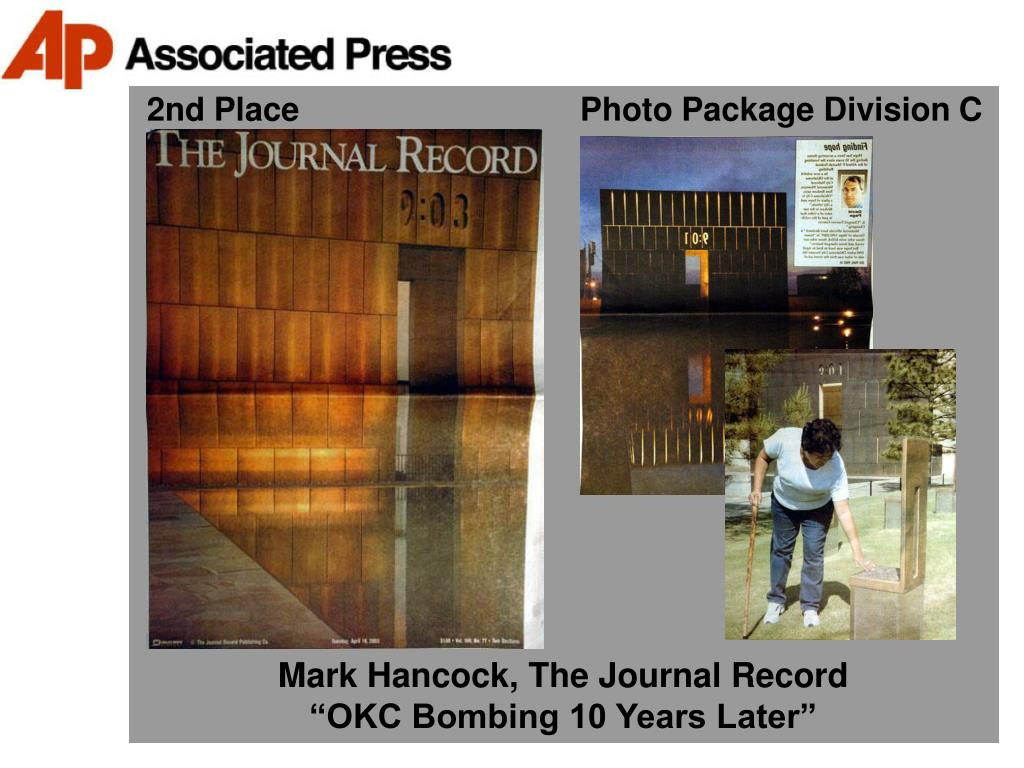 2nd Place                               Photo Package Division C