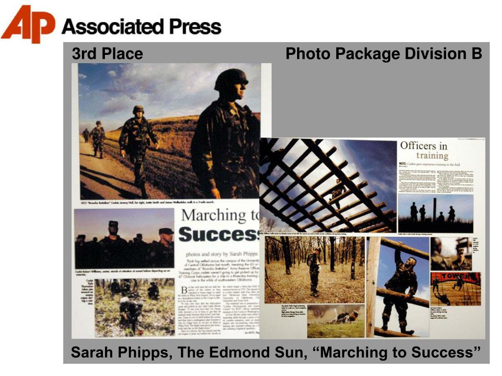 3rd Place                                Photo Package Division B