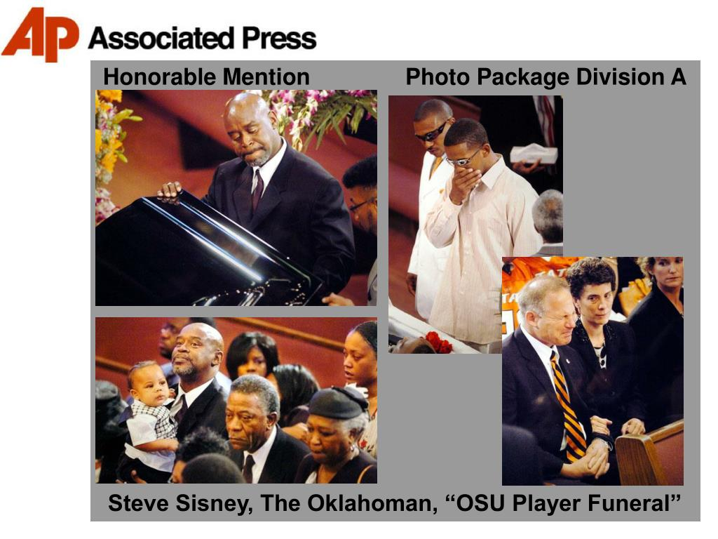 Honorable Mention               Photo Package Division A