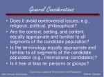 general considerations38