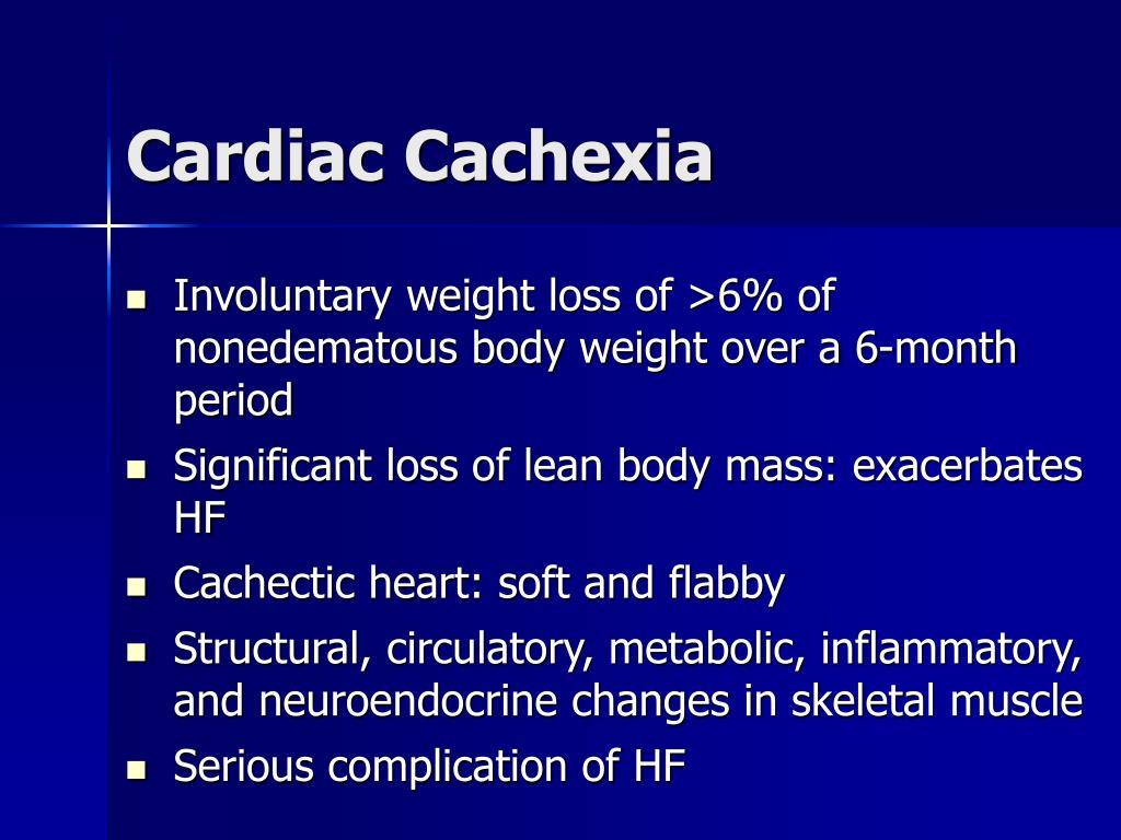 Cardiac Cachexia