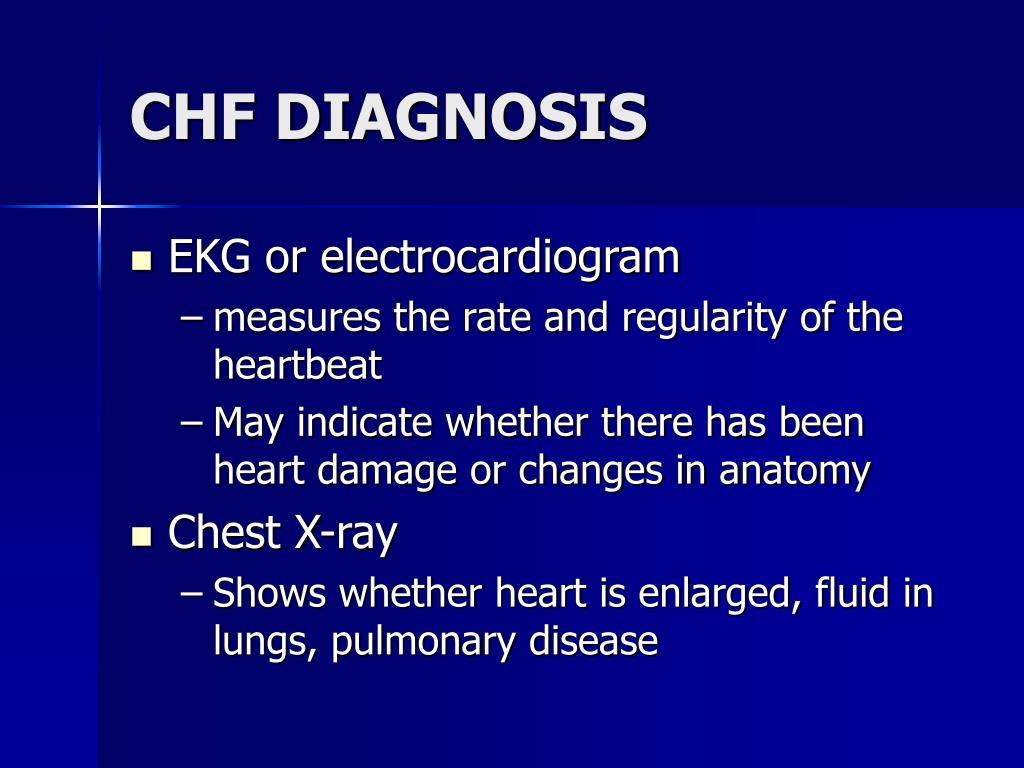 CHF DIAGNOSIS