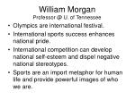 william morgan professor @ u of tennessee