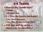 4 4 teams