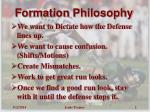 formation philosophy