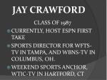 jay crawford