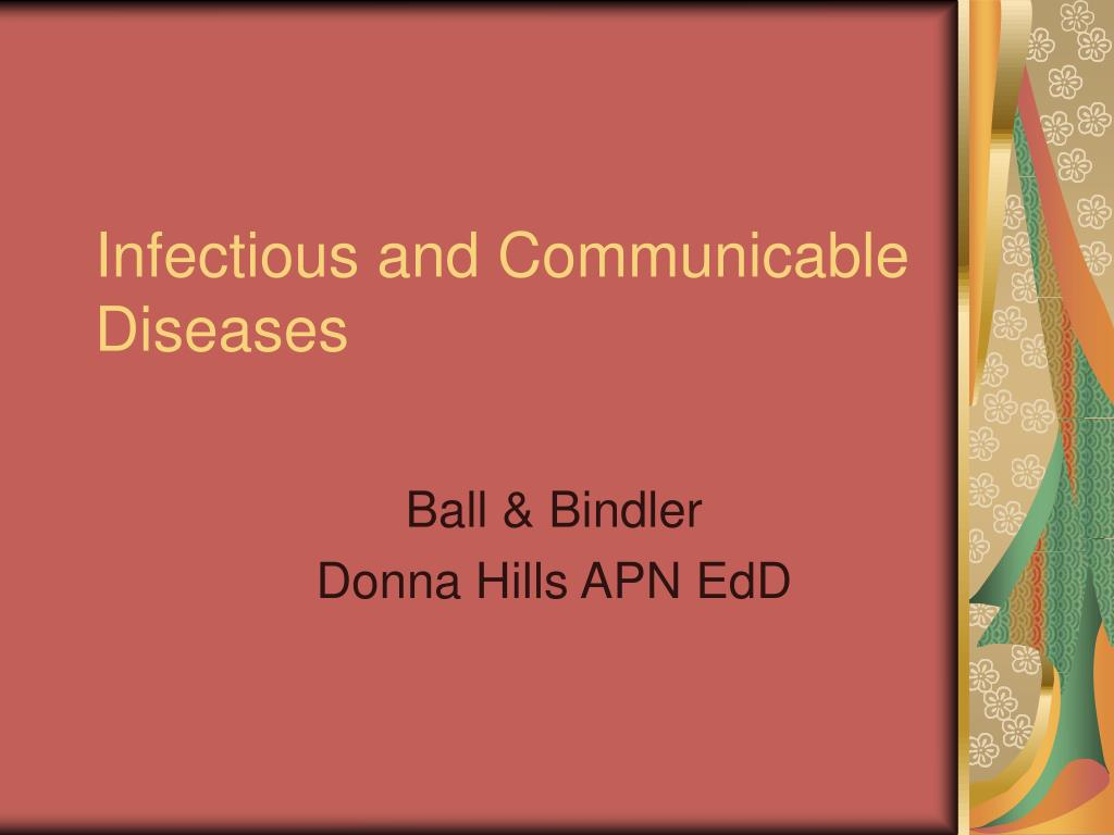 infectious and communicable diseases l.