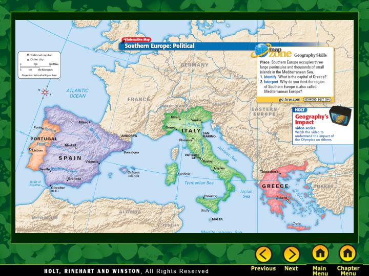 Ppt Chapter 16 Southern Europe Powerpoint Presentation Free Download Id 334574