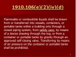 1910 106 e 2 iv d