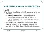 polymer matrix composites22