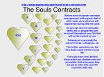 the souls contracts