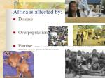 africa is affected by