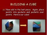 building a cube69
