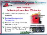 next frontiers delivering greater fuel efficiencies