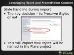 leveraging word and framemaker content40